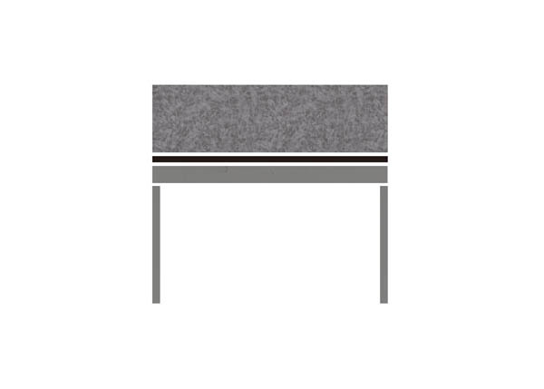 Pewter Brush BLK GRY