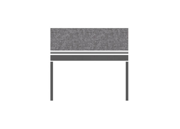 Pewter Brush Gry CHARCOAL