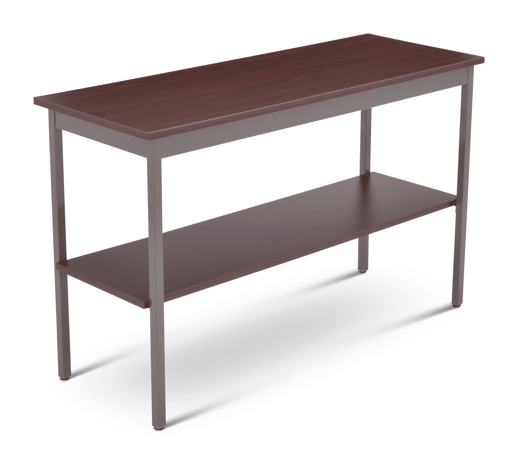 Utility Table W Shelf Series